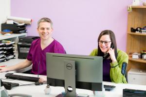 Patientenanmeldung und -aufnahme